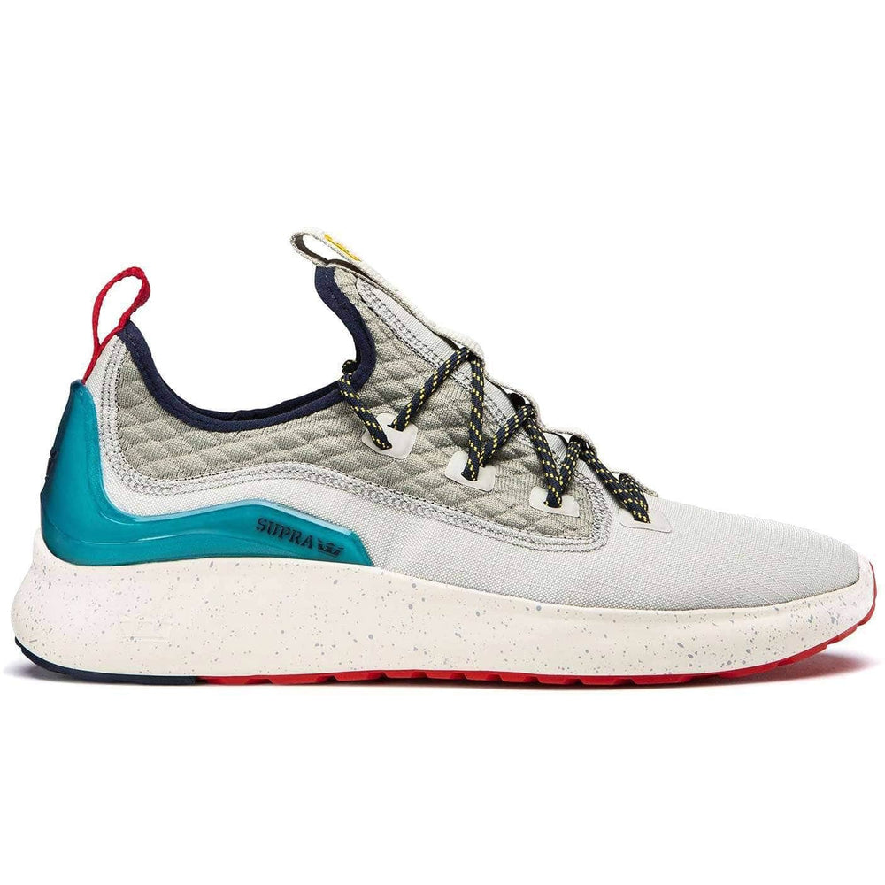 Supra Factor XT Shoes - Stone Teal/Dk Grey Mens Running Shoes/Trainers by Supra