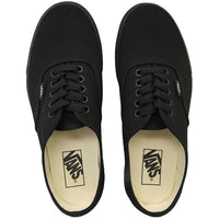 Vans Authentic Skate Shoes Black/Black Mens Skate Shoes by Vans