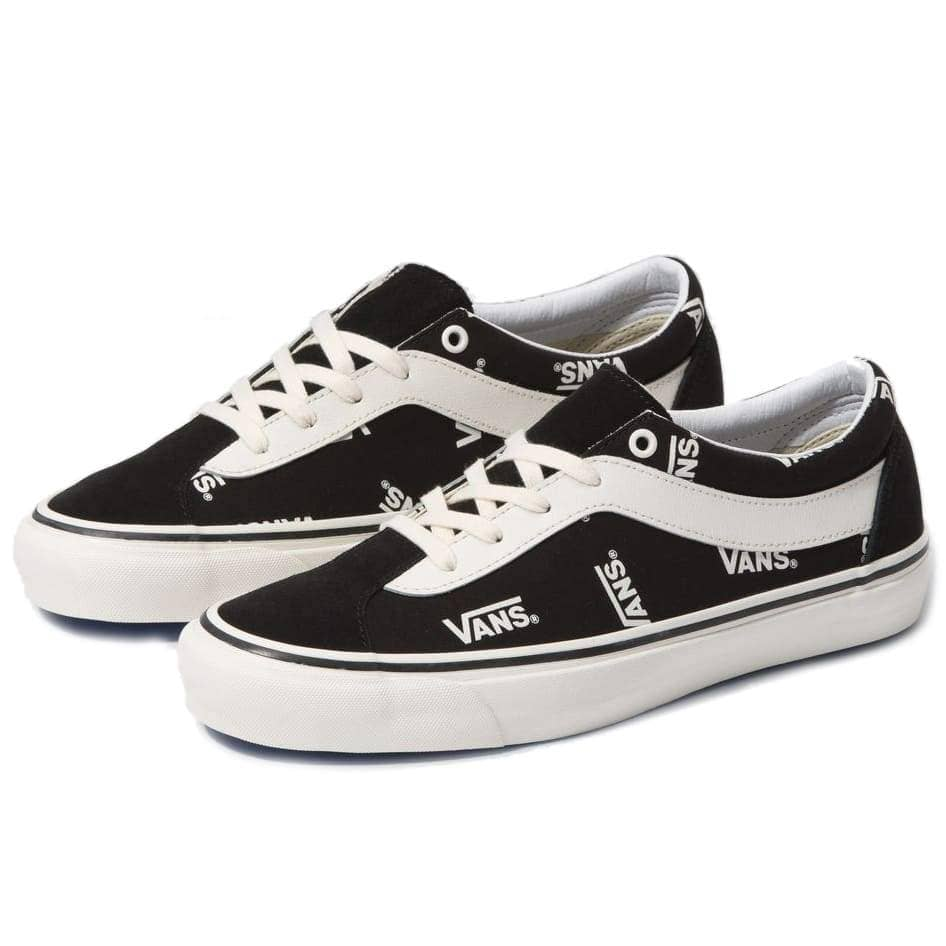 Vans Bold NI Skate Shoes (Vans Block) - Black/Marshmallow Mens Skate Shoes by Vans