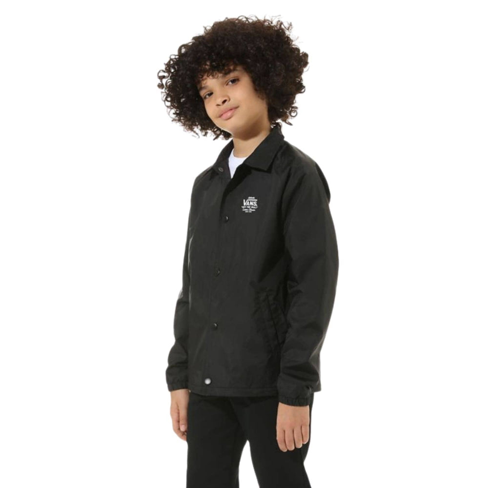Vans Boys Torrey Jacket - Black/White - Boys Insulated Jacket by Vans
