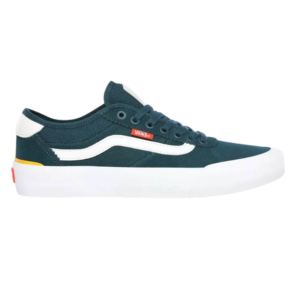 Vans Chima Pro 2 Skate Shoes - (Prime) Atlantic - Mens Skate Shoes by Vans