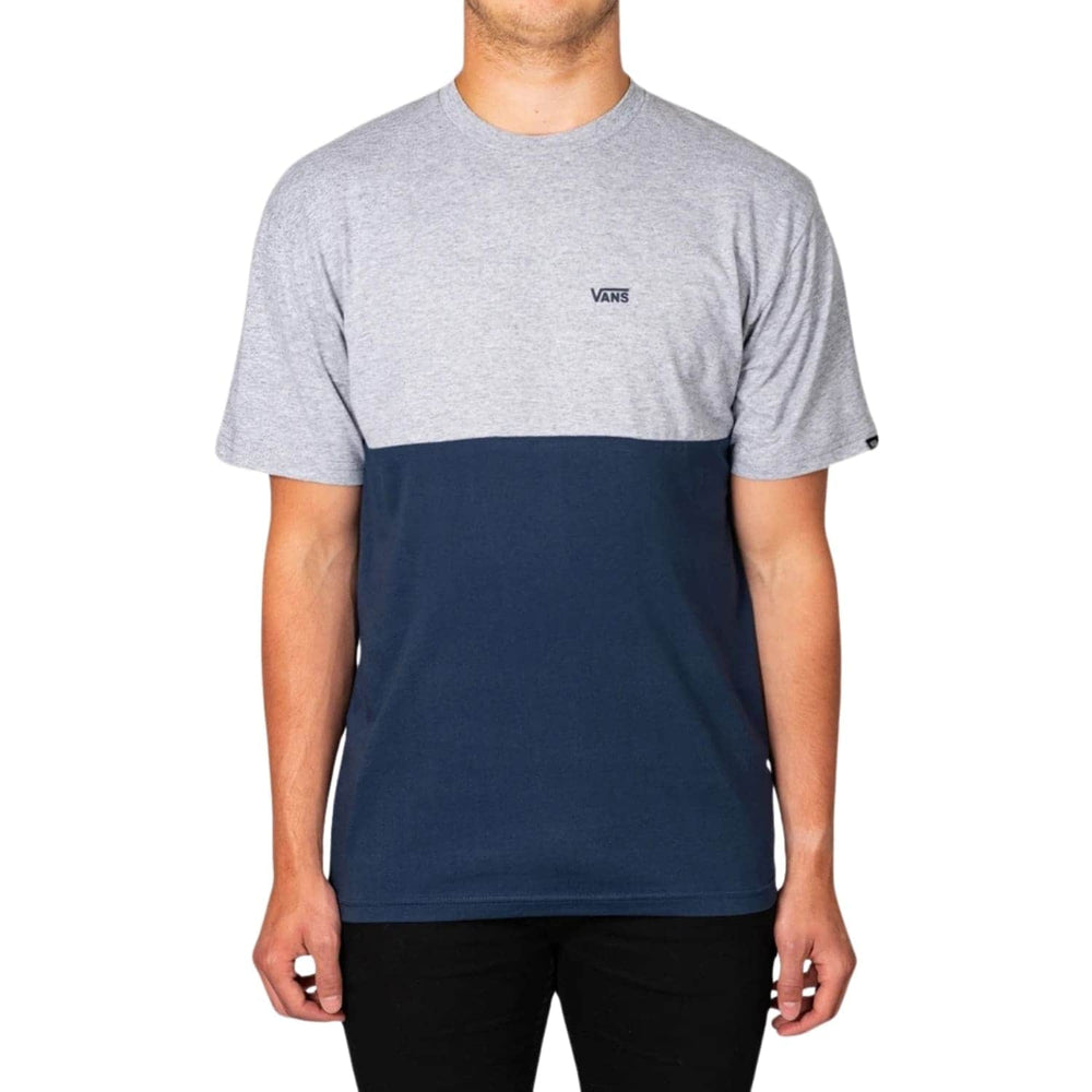 Vans Colourblock T-Shirt - Dress Blue/Athletic