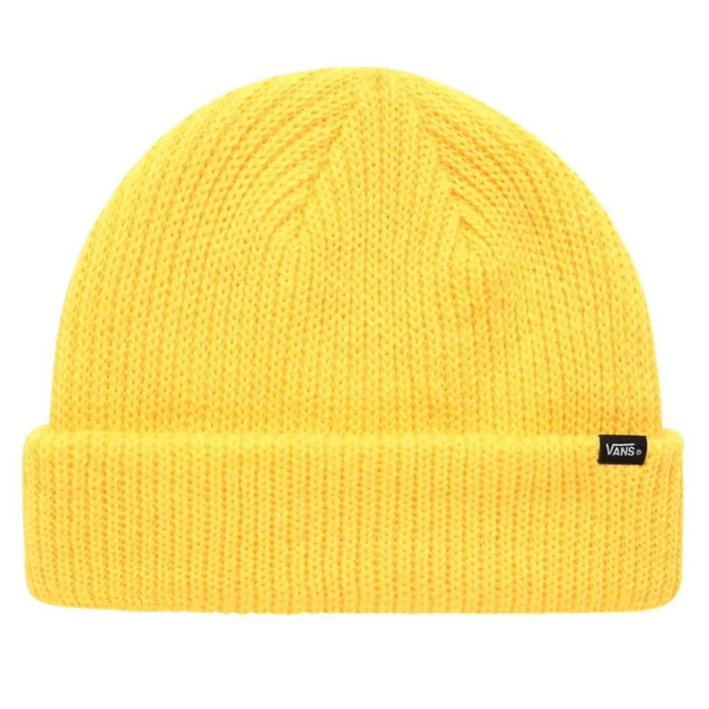 Vans Core Basics Beanie Lemon Chrome One Size - Fold Beanie by Vans