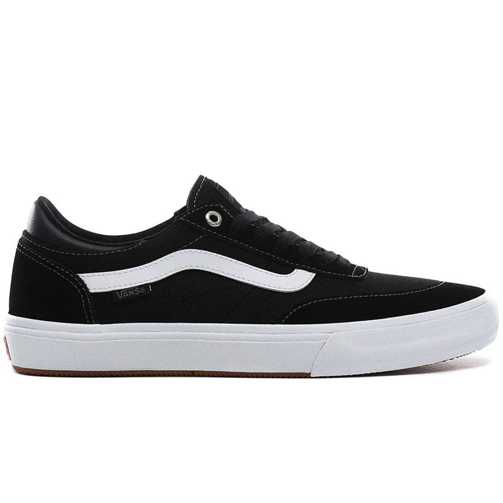 Vans Gilbert Crockett Pro Skate Shoes Black True White Mens Skate Shoes by Vans 10 UK