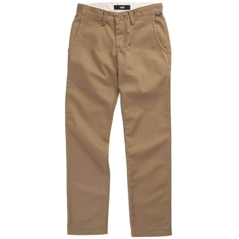 Vans Kids Authentic Chino Pants Dirt Boys Chino Pants/Trousers by Vans