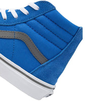 Vans Kids Sk8-Hi Zip Pop Shoes - Nebulas Blue/Gargoyle