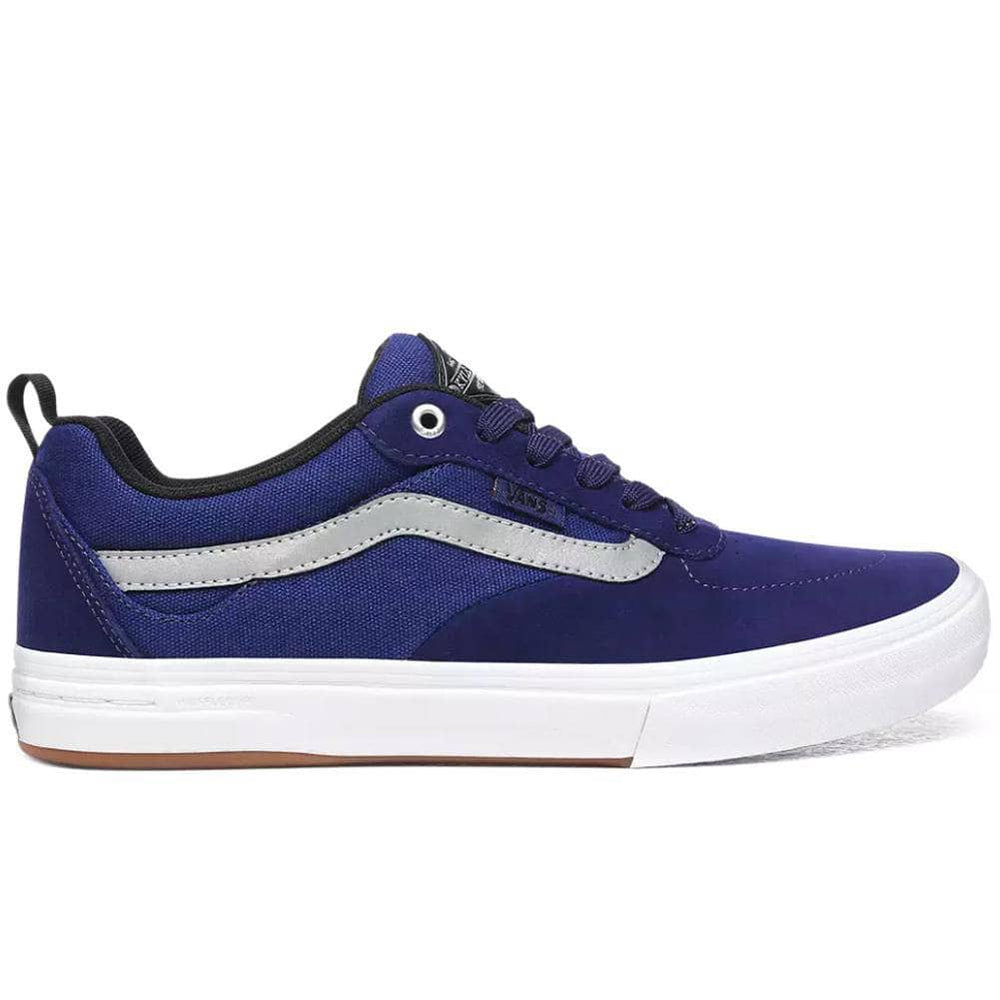 Vans Kyle Walker Pro Skate Shoes Reflective / Blueprint / True White Mens Skate Shoes by Vans