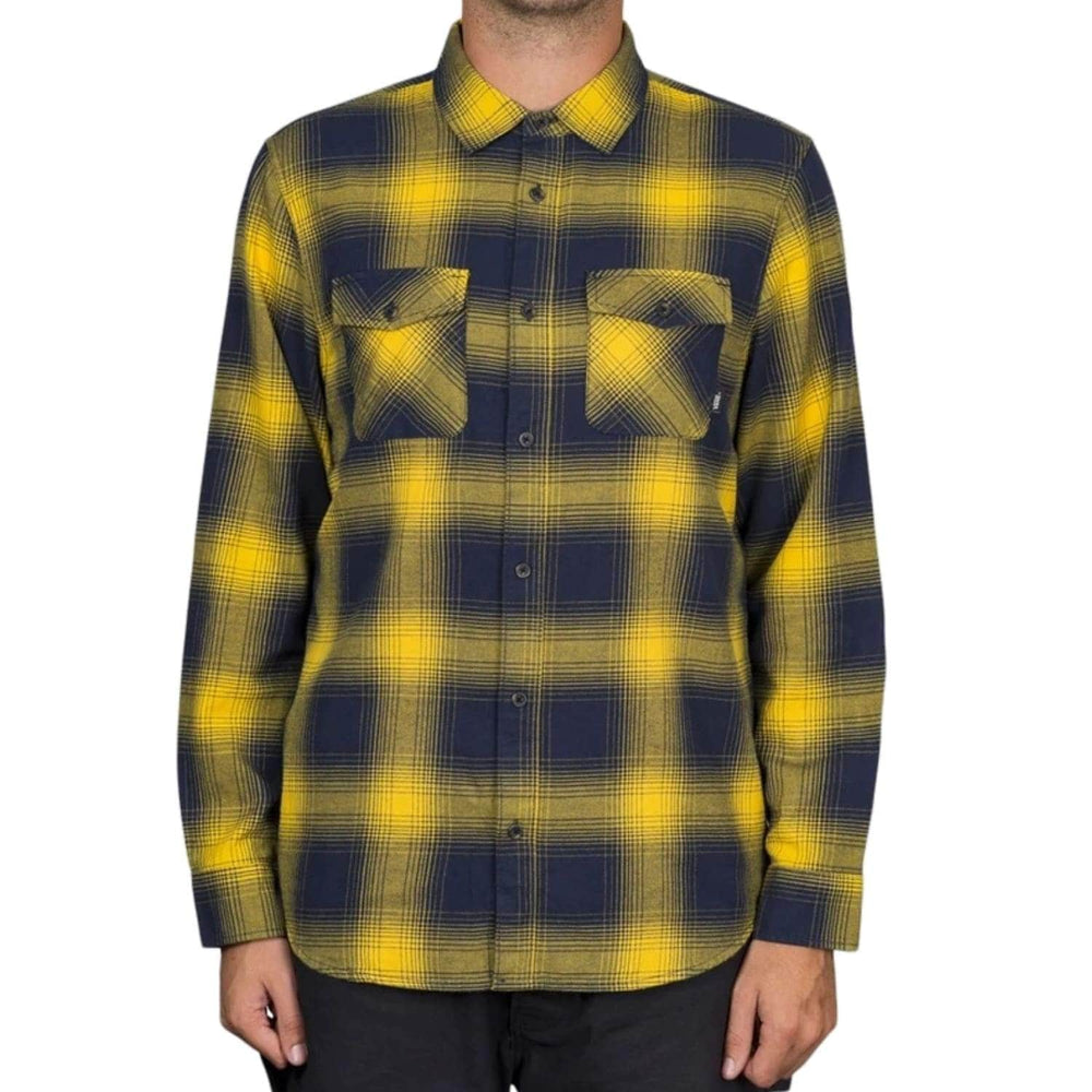 Vans Monterey III L/S Shirt - Dress Blues/Lemon