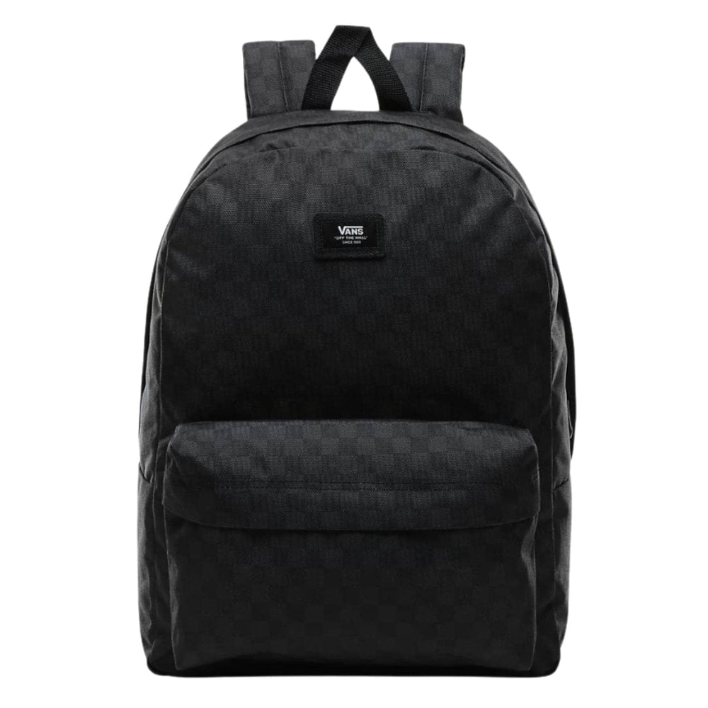 Vans Old Skool III Backpack - Black/Charcoal Check - One Size