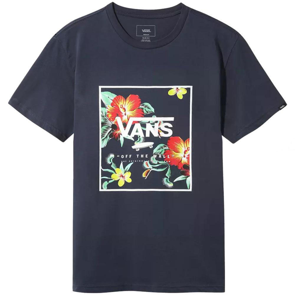 Vans Print Box T-Shirt - Dress Blue Trap Floral