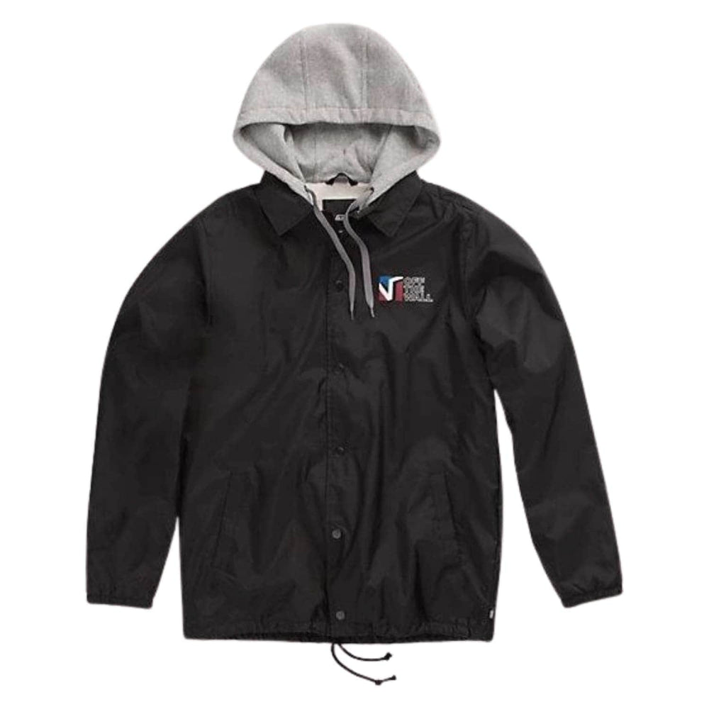 Vans Riley Jacket Black Dimension - Mens Windbreaker/Rain Jacket by Vans