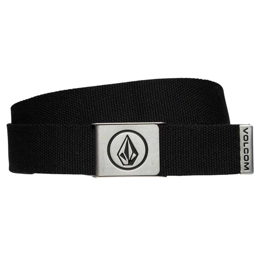 Volcom Circle Web Belt - Black - One Size