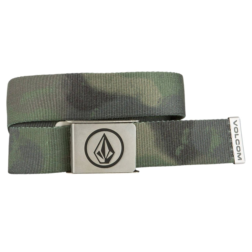 Volcom Circle Web Belt - Camo - One Size - Mens Web Belt by Volcom One Size