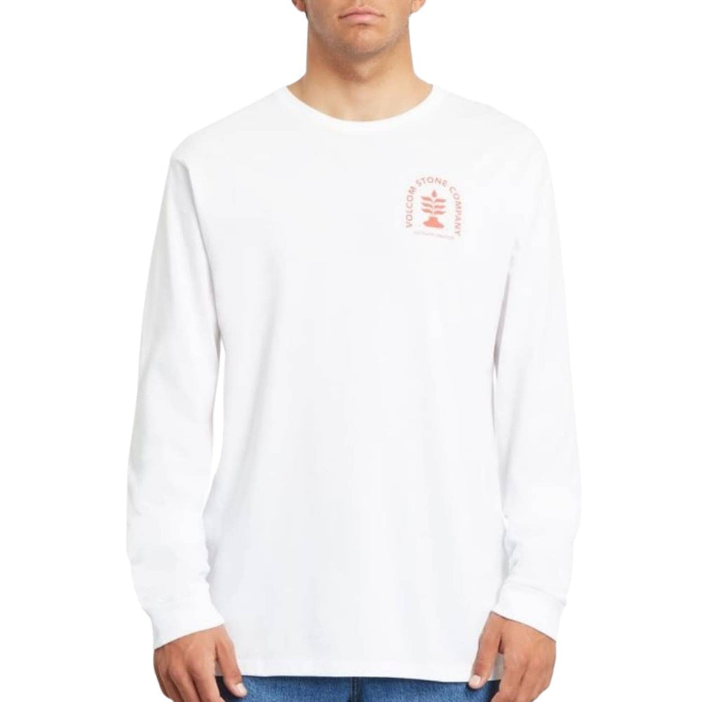 Volcom Culturevate L/S T-Shirt - White