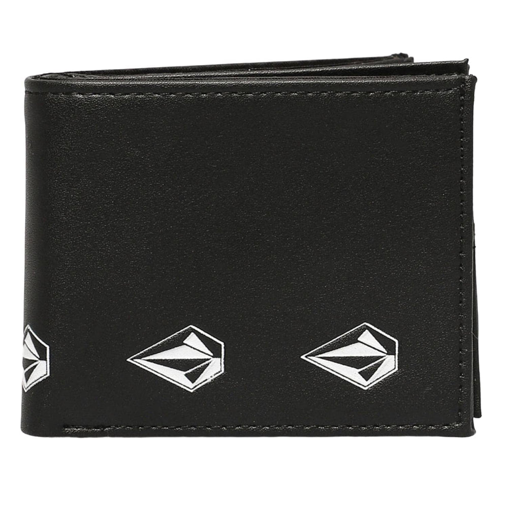 Volcom Empty PU Wallet New Black - Mens Wallet by Volcom N/A