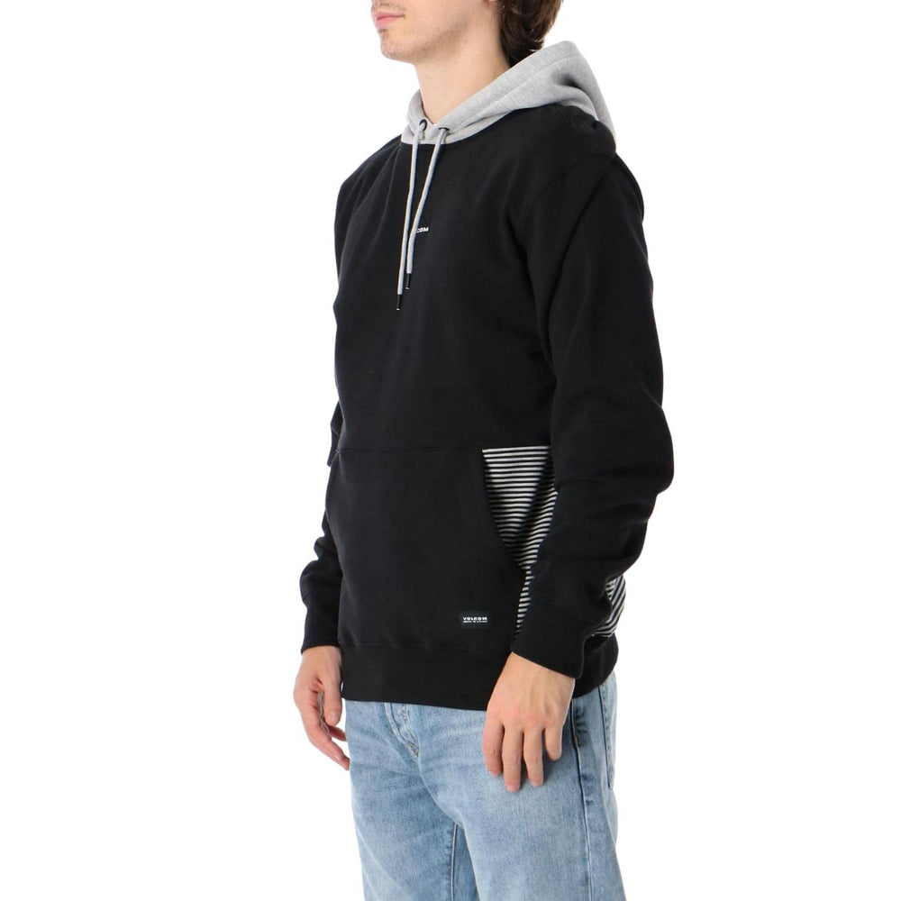 Volcom Forzee Pullover Hood Black (FA20) - Mens Pullover Hoodie by Volcom