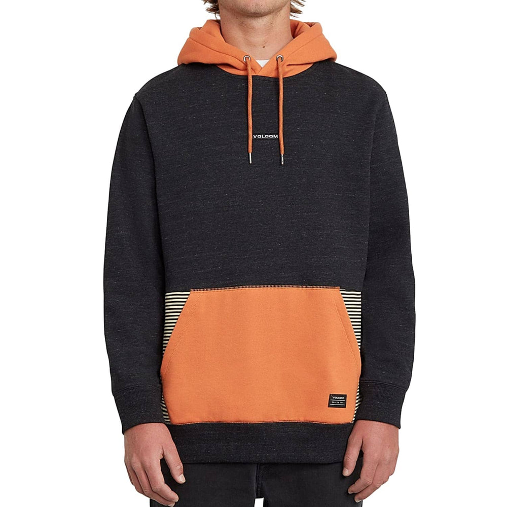 Volcom Forzee Pullover Hood Burnt Orange - Mens Pullover Hoodie by Volcom