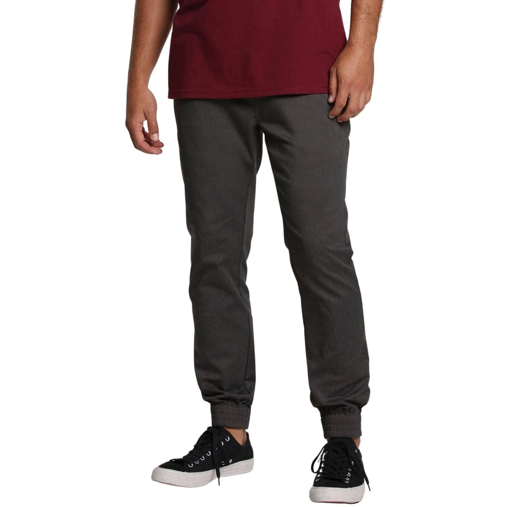 Volcom Frickin Slim Jogger Charcoal Heather - Mens Joggers by Volcom