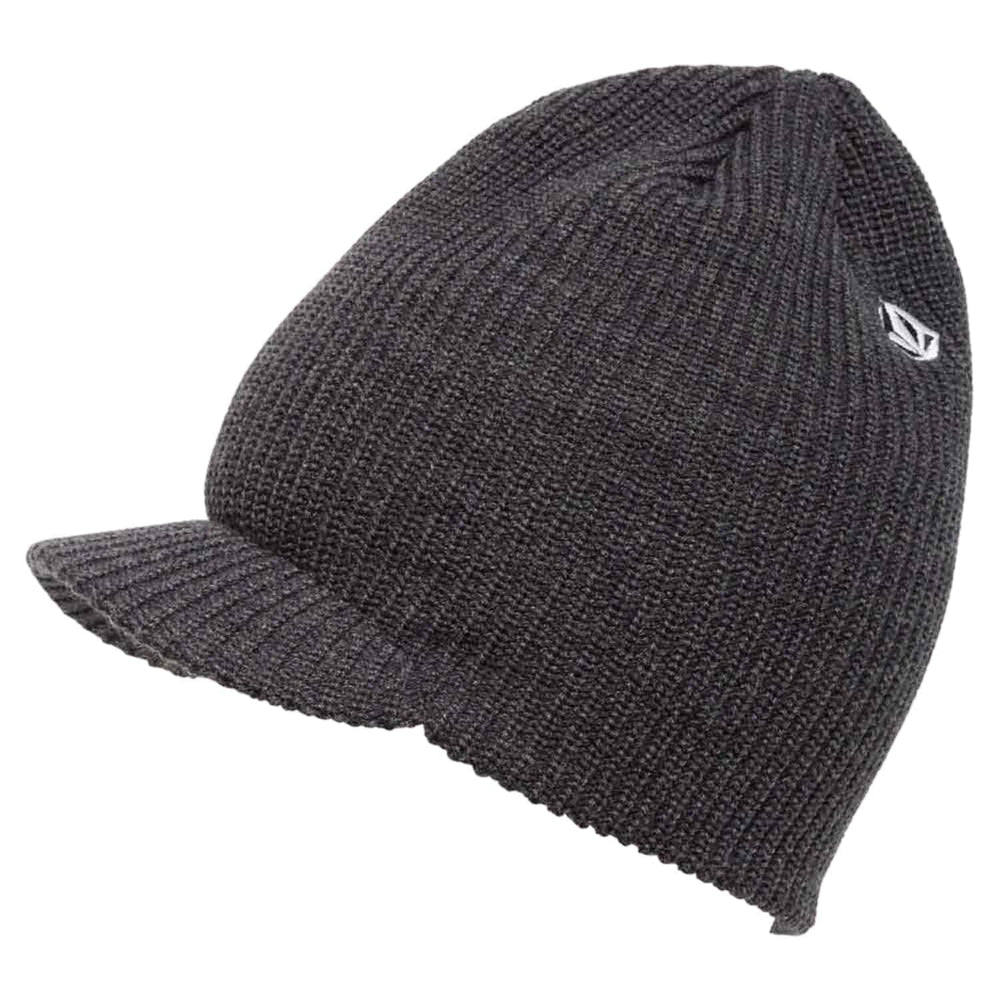 Volcom Full Stone Visor Beanie - Charcoal Heather - One Size