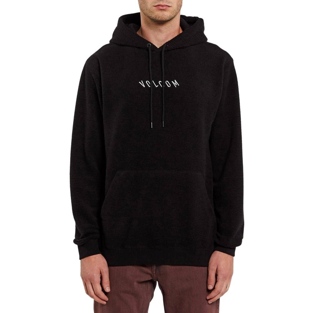 Volcom Hever Pullover Hood - Black - Mens Pullover Hoodie by Volcom