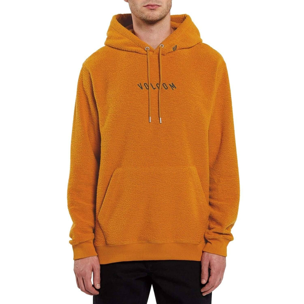 Volcom Hever Pullover Hood - Inca Gold - Mens Pullover Hoodie by Volcom