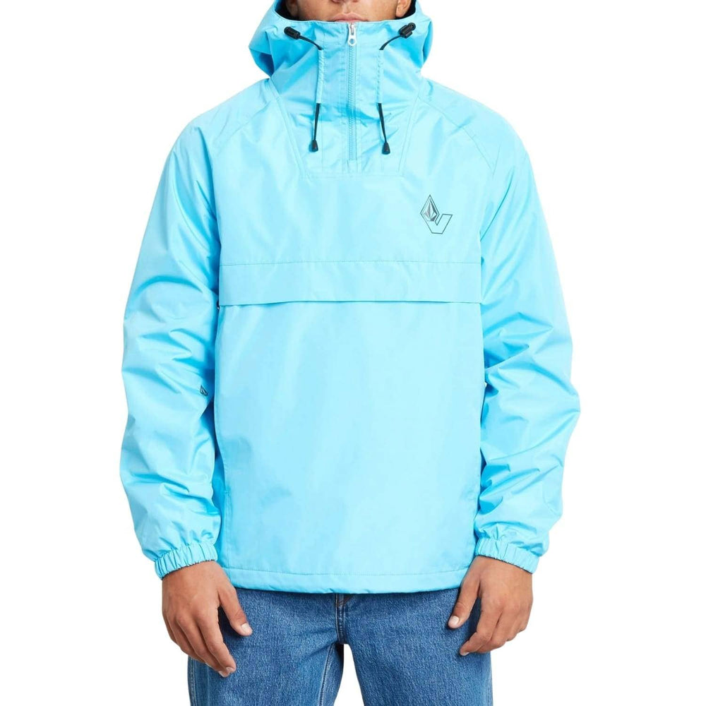 Volcom Kane Jacket - Aqua - Mens Windbreaker/Rain Jacket by Volcom