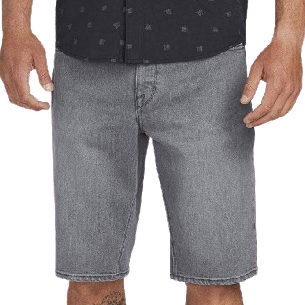 Volcom Kinkade Denim Short - Grey Vintage