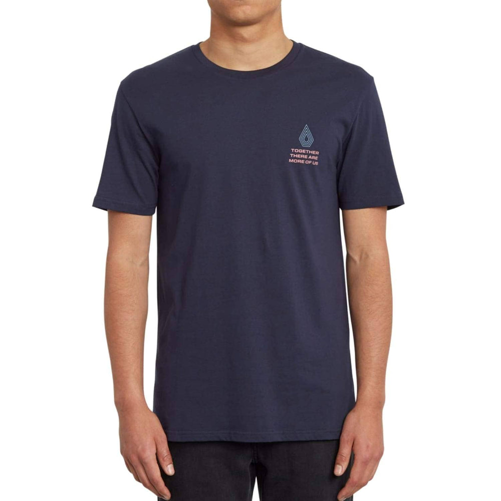 Volcom Radiation T-Shirt Navy - Mens Graphic T-Shirt by Volcom