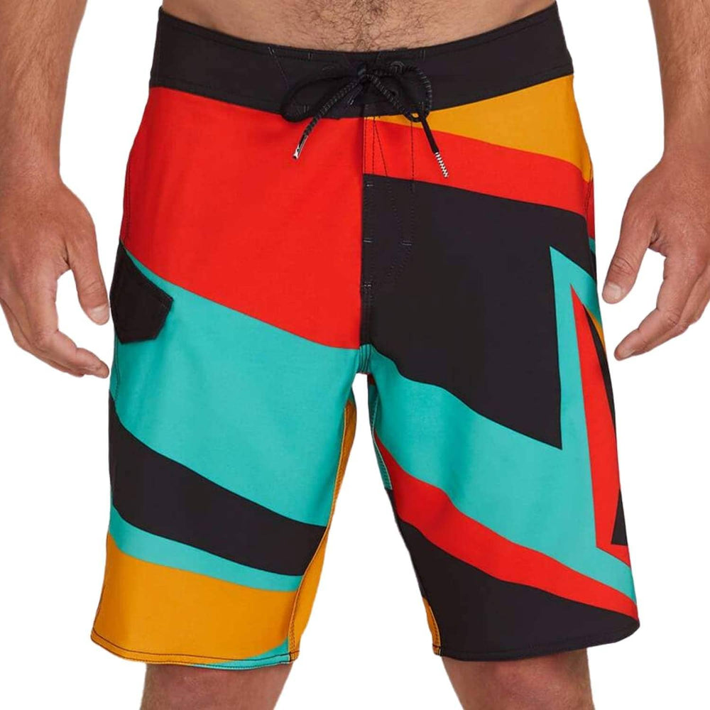 Volcom Ransacked Boardshort Black - Mens Boardshorts by Volcom