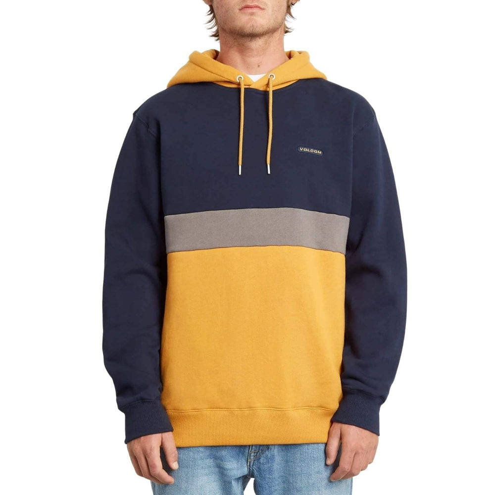 Volcom Single Stone Div Pullover Hood - Inca Gold - Mens Pullover Hoodie by Volcom