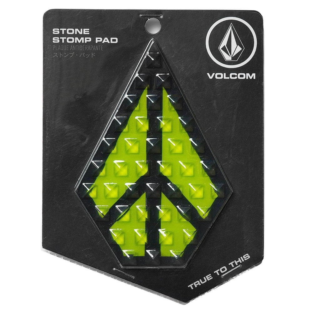 Volcom Snowboard Stone Stomp Pad - Lime - Snowboard Stomp Pad by Volcom