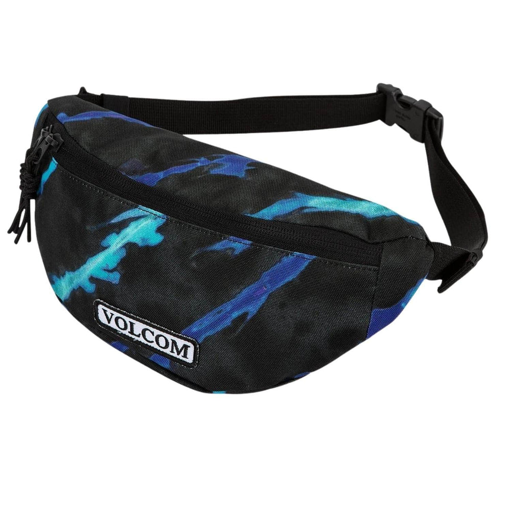 Volcom Stone Azza Pouch Side Bag Tie Dye One Size - Bum Bag by Volcom