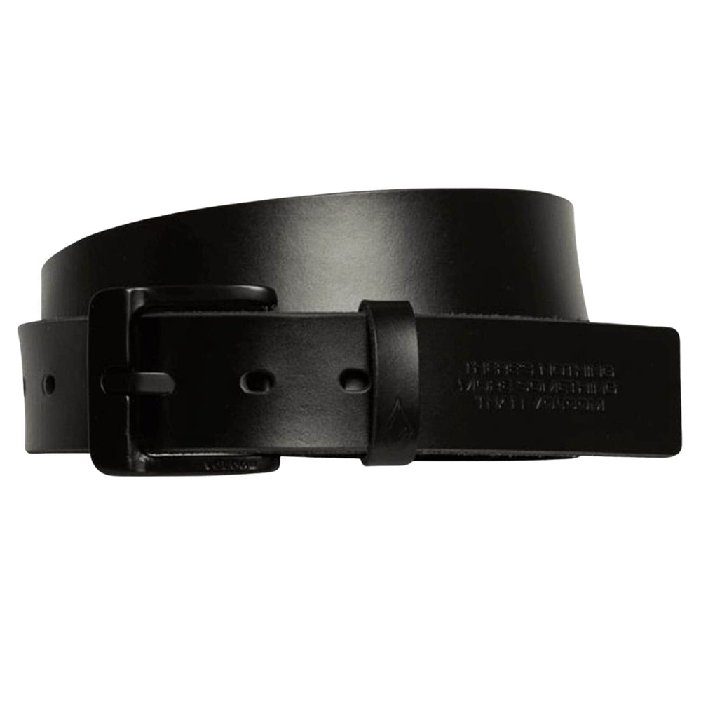 Volcom The Classic Leather LTH Belt Black - Mens Leather Belt by Volcom