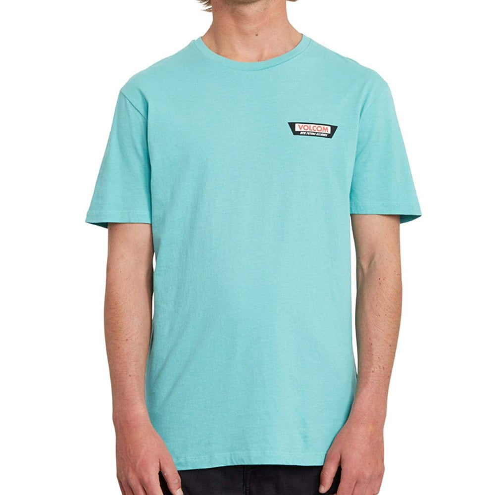 Volcom Trap LTW T-Shirt Mysto Green - Mens Plain T-Shirt by Volcom