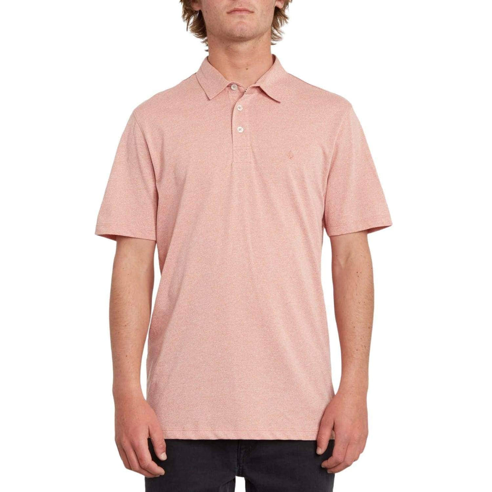 Volcom Wowzer Polo Shirt Sandstone - Mens Polo Shirt by Volcom