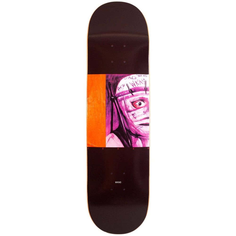WKND Body Parts Johan Stuckey Deck - Black - 8.6in