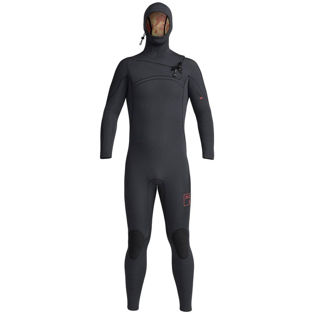 Xcel Mens 5.5/4.5mm Comp X Hooded 2020/21 Wetsuit Black - Mens Full Length Wetsuit by Xcel