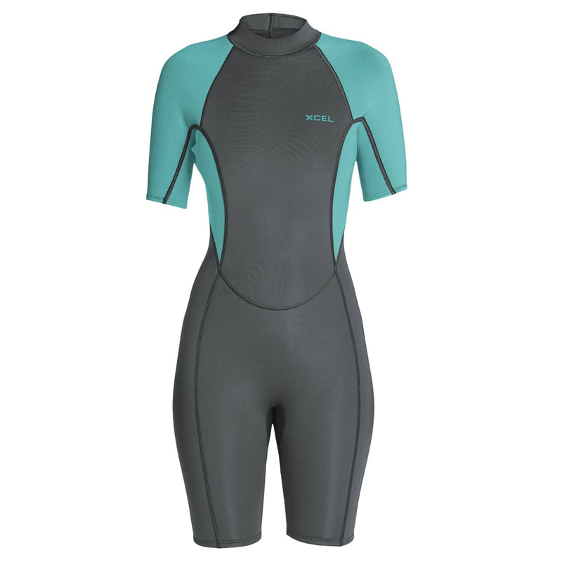 xcel-womens-axis-2mm-shortie-wetsuit-graphite-pistachio