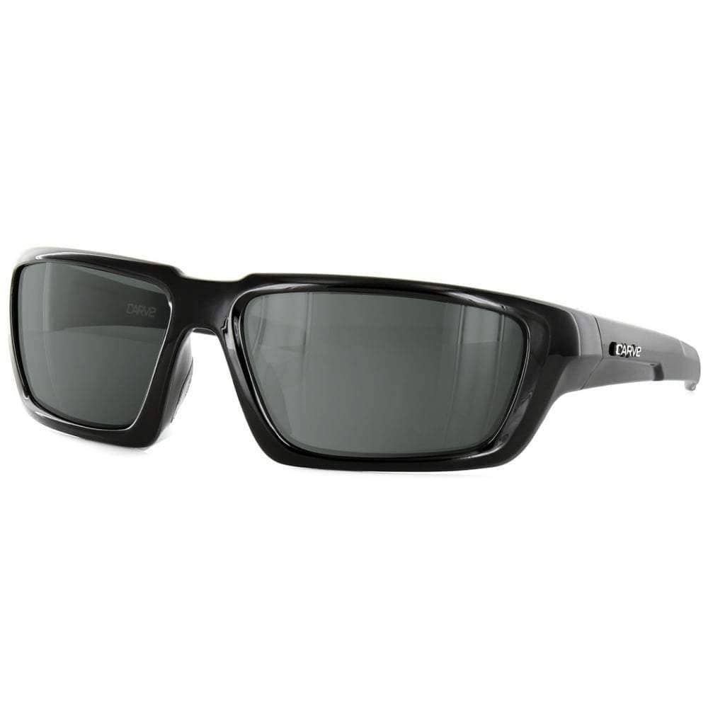 Carve Empire Polarized Sunglasses in Black Square/Rectangular Sunglasses by Carve
