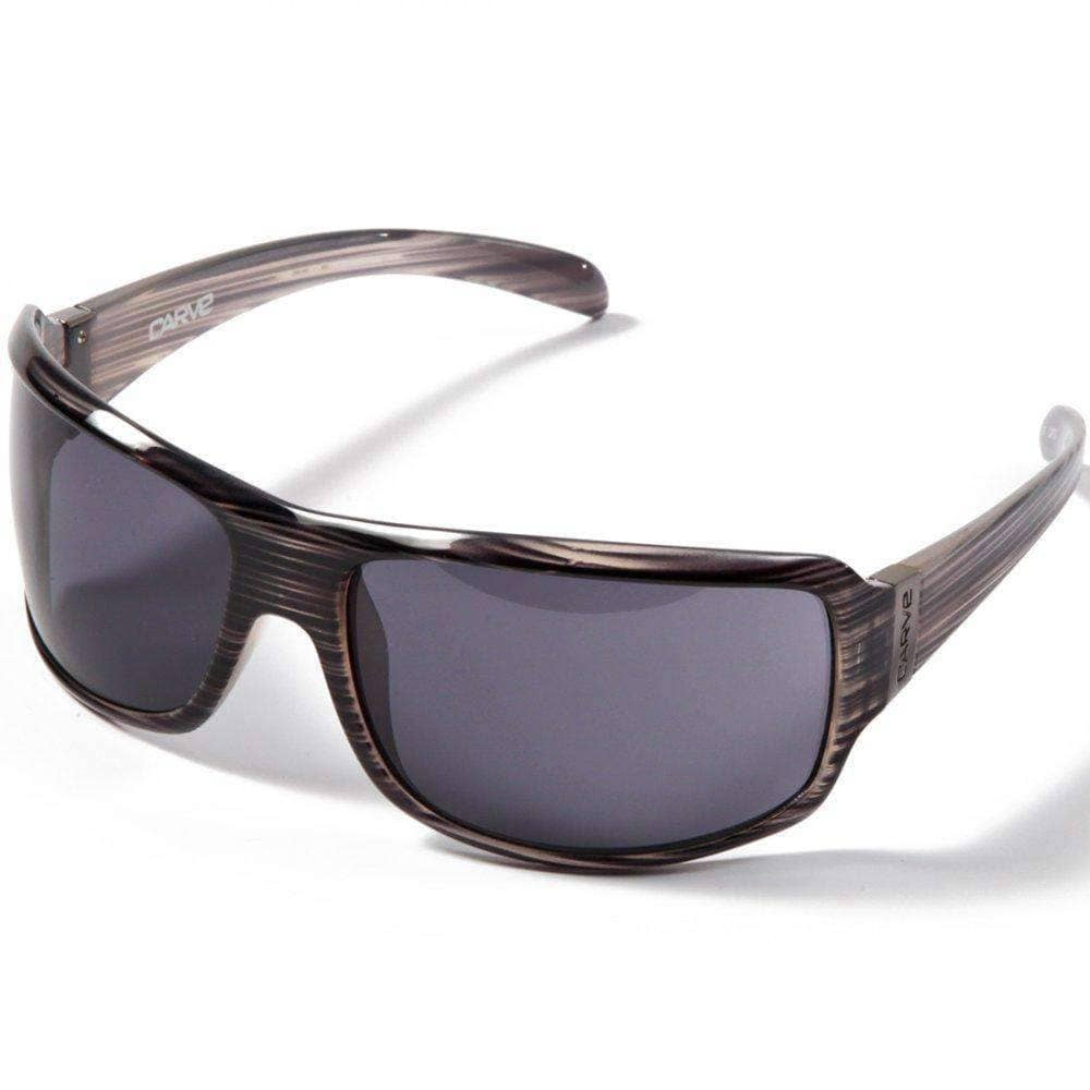 Carve Frothdog Sunglasses in Grey Streak Wrap Around Sunglasses by Carve