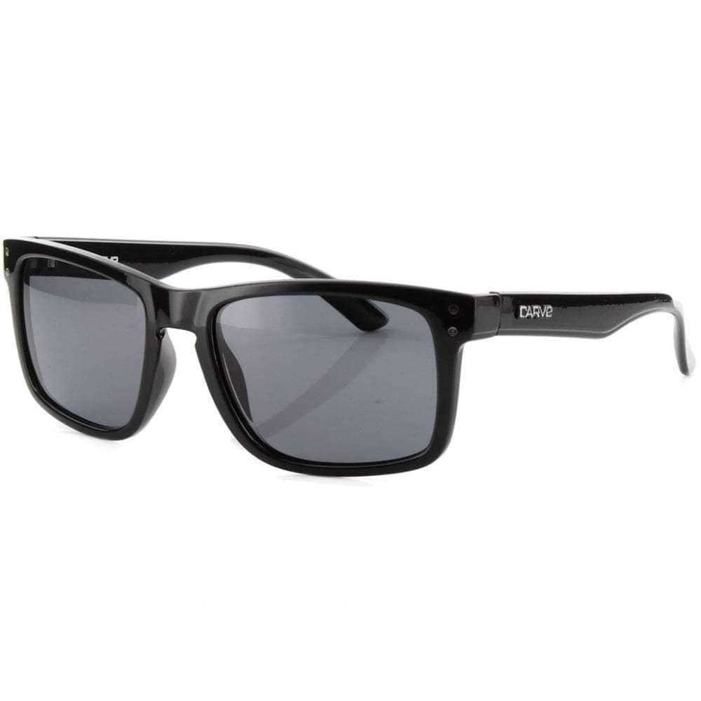 Carve Goblin Polarized Sunglasses in Black Square/Rectangular Sunglasses by Carve