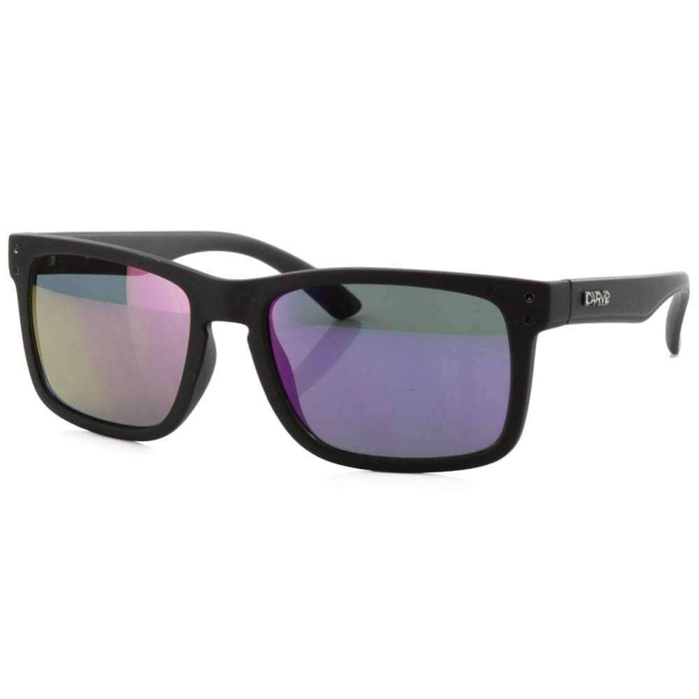 Carve Goblin Sunglasses in Matt Black Square/Rectangular Sunglasses by Carve