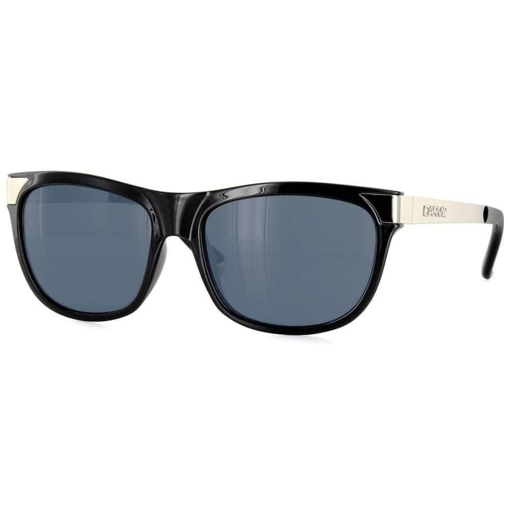 Carve Horizon Sunglasses in Black Silver Square/Rectangular Sunglasses by Carve