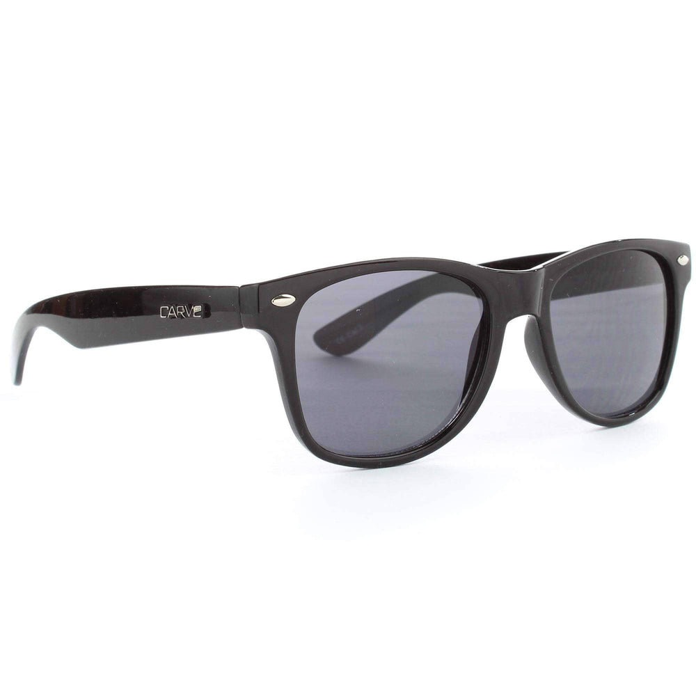 Carve Kids Digger Sunglasses in Black Square/Rectangular Sunglasses by Carve