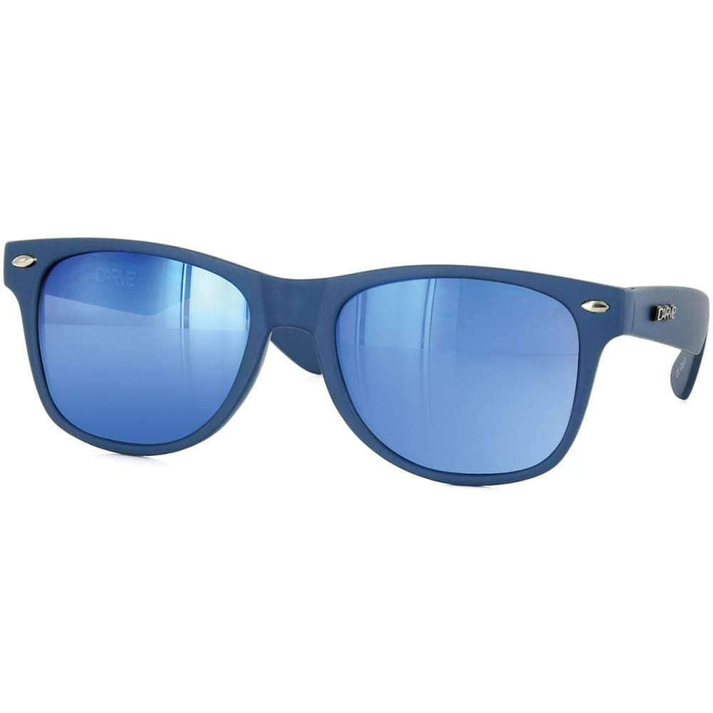 Carve Kids Digger Sunglasses in Blue Square/Rectangular Sunglasses by Carve