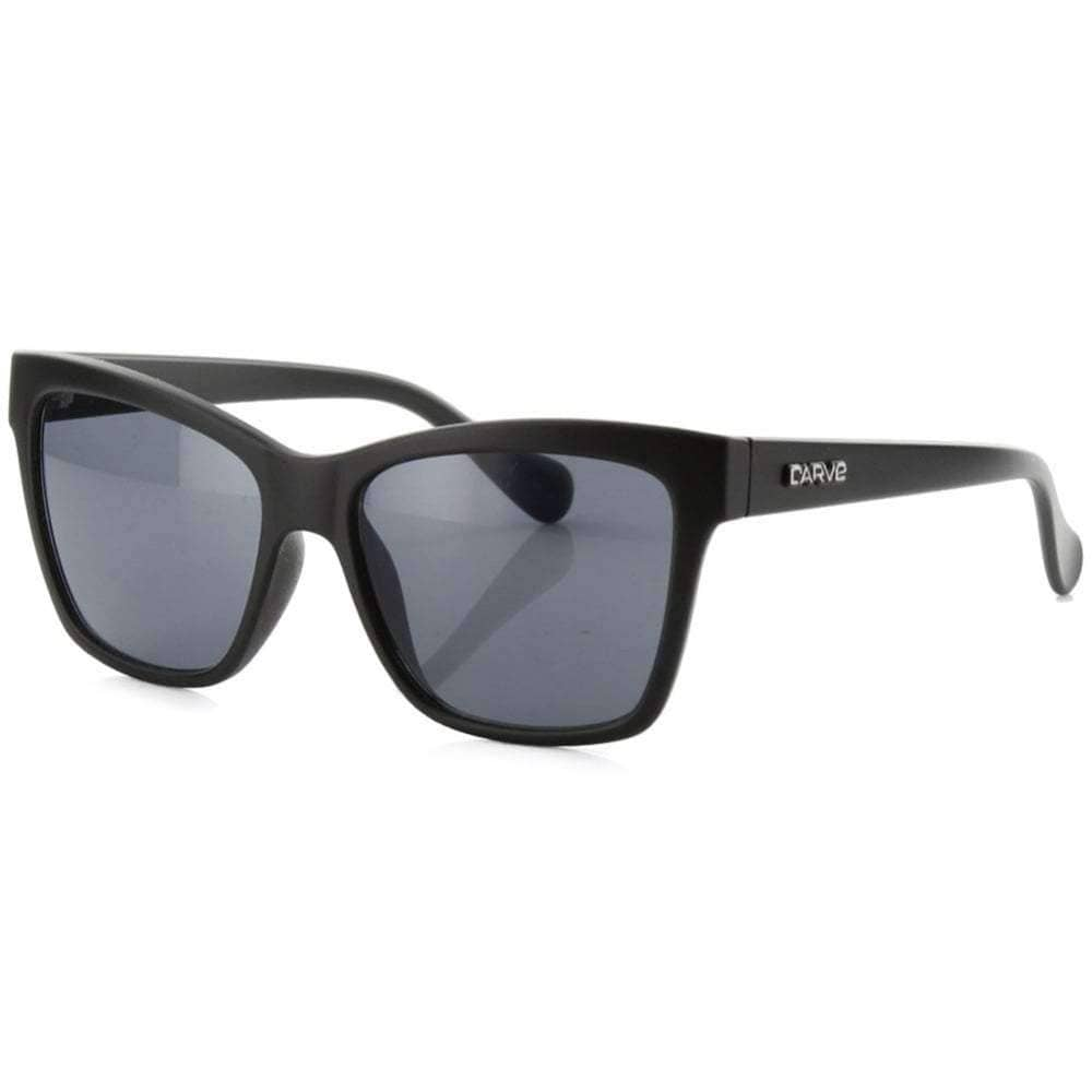 Carve Kids Gomez Sunglasses in Black Square/Rectangular Sunglasses by Carve