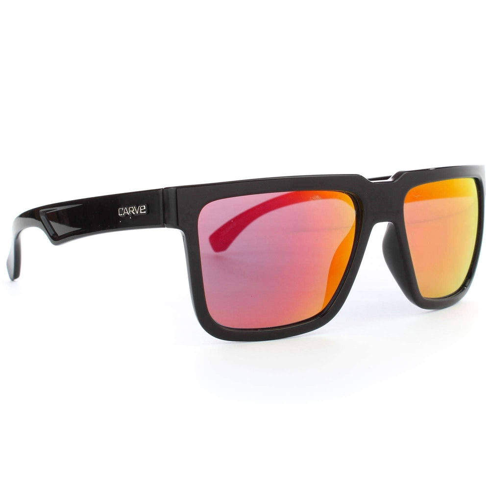 Carve Phenomenon Sunglasses in Black Multi Square/Rectangular Sunglasses by Carve