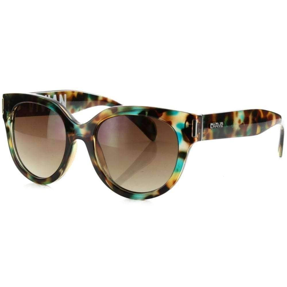 Carve Vivian Sunglasses in Tortoise Cat Eye Sunglasses by Carve