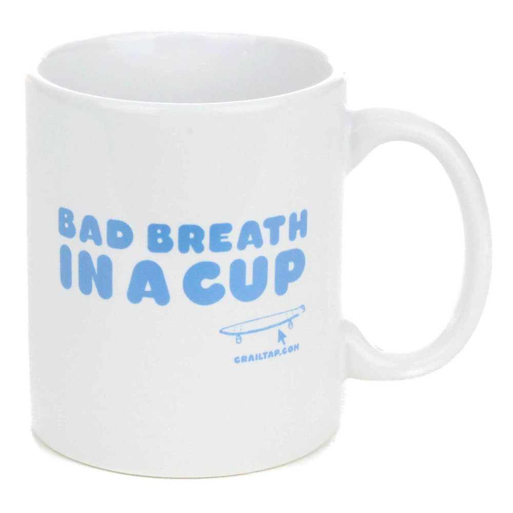 Crailtap Bad Breath Mug Gifts for Skateboarders by Crailtap