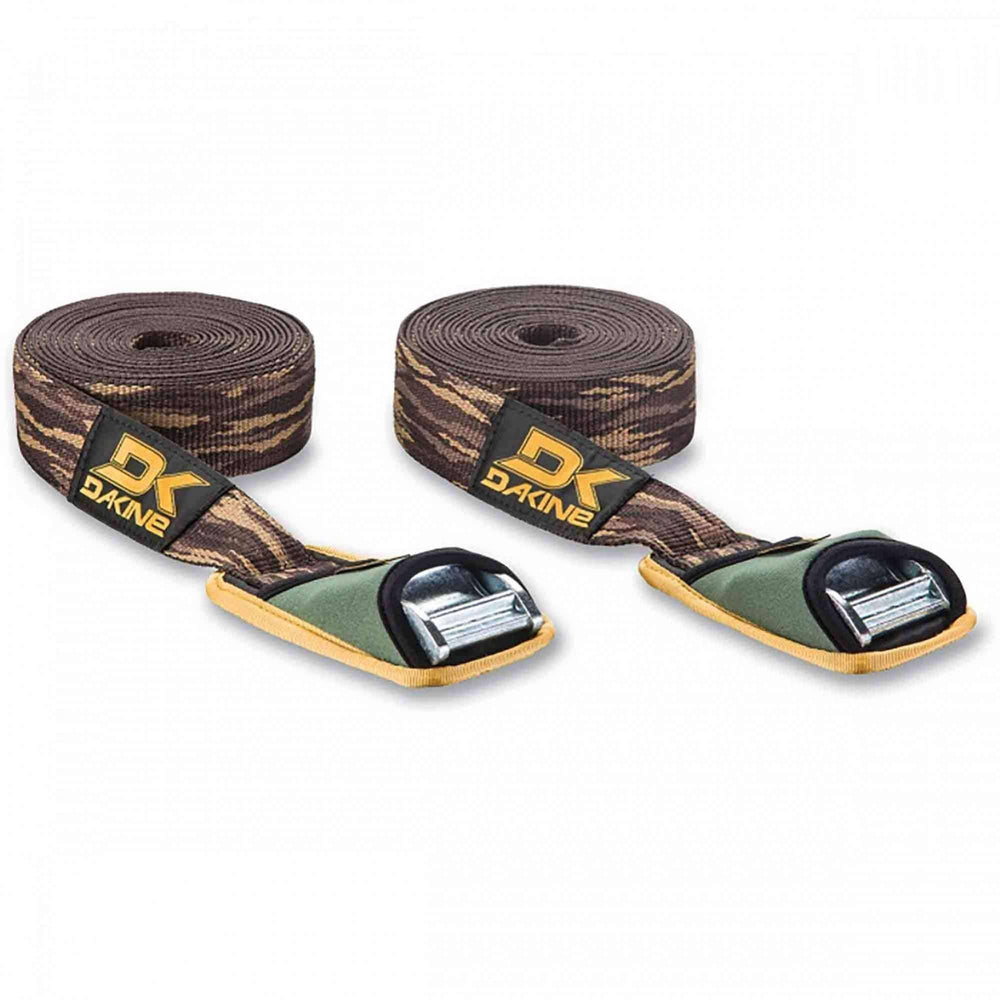 Dakine Baja Tie Down Straps 12ft in Camo Car Tie Down Straps by Dakine 12ft